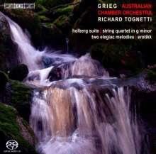 Edvard Grieg (1843-1907): Streichquartett op.27 (f.Streichorchester), SACD