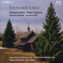 Edouard Lalo (1823-1892): Concerto Russe für Violine & Orchester op.29, Super Audio CD