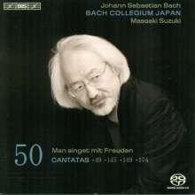 Johann Sebastian Bach (1685-1750): Kantaten Vol.50 (BIS-Edition), SACD