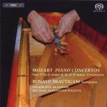 Wolfgang Amadeus Mozart (1756-1791): Klavierkonzerte Nr.17 & 26, SACD