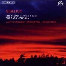 Jean Sibelius (1865-1957): The Tempest op.109, SACD