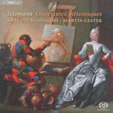 """Georg Philipp Telemann (1681-1767): Ouvertüren & Concerti """"Ouvertures pittoresques"""", Super Audio CD"""