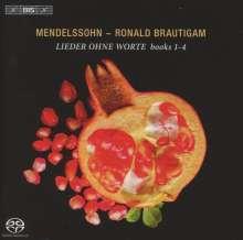 Felix Mendelssohn Bartholdy (1809-1847): Lieder ohne Worte (Ausz.), SACD
