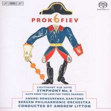 Serge Prokofieff (1891-1953): Symphonie Nr.6, Super Audio CD