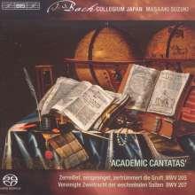 "Johann Sebastian Bach (1685-1750): Weltliche Kantaten Vol.4 ""Akademische Kantaten"", SACD"