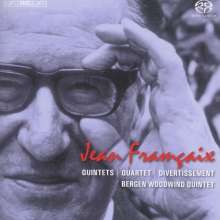 Jean Francaix (1912-1997): Bläserquintette Nr.1 & 2, Super Audio CD