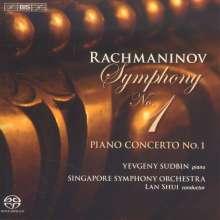 Sergej Rachmaninoff (1873-1943): Symphonie Nr.1, SACD