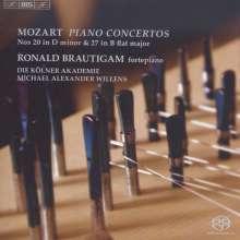 Wolfgang Amadeus Mozart (1756-1791): Klavierkonzerte Nr.20 & 27, SACD