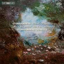 Wilhelm Stenhammar (1871-1927): Streichquartette Vol.3, SACD