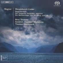 Richard Wagner (1813-1883): Wesendonck-Lieder, SACD