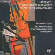 Paul Hindemith (1895-1963): Violinkonzert (1939), SACD