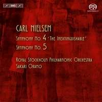 Carl Nielsen (1865-1931): Symphonien Nr.4 & 5, Super Audio CD