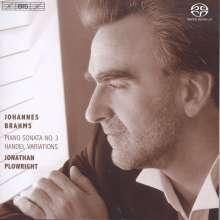 Johannes Brahms (1833-1897): Klaviersonate Nr.3 op.5, Super Audio CD