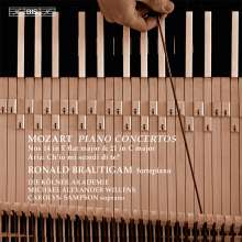 Wolfgang Amadeus Mozart (1756-1791): Klavierkonzerte Nr.14 & 21, Super Audio CD