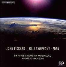 "John Pickard (geb. 1963): Symphonie Nr.4 ""Gaia Symphony"" für Blechbläser & Percussion, Super Audio CD"