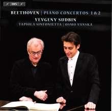 Ludwig van Beethoven (1770-1827): Klavierkonzerte Nr.1 & 2, Super Audio CD
