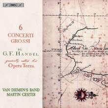 Georg Friedrich Händel (1685-1759): Concerti grossi op. 3 Nr. 1-6, Super Audio CD