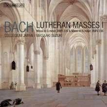 Johann Sebastian Bach (1685-1750): Lutherische Messen Vol.1, SACD