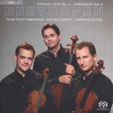 Ludwig van Beethoven (1770-1827): Streichtrios Nr.1 & 2, SACD