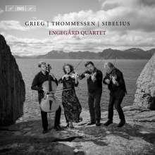Engegard Quartet - Grieg / Thommessen / Sibelius, Super Audio CD