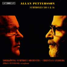 Allan Pettersson (1911-1980): Symphonien Nr.4 & 16, 1 Super Audio CD und 1 DVD