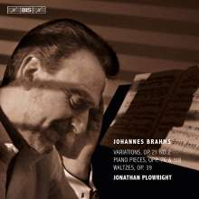 Johannes Brahms (1833-1897): Klavierwerke, Super Audio CD