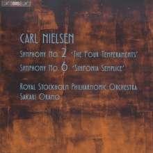 Carl Nielsen (1865-1931): Symphonien Nr.2 & 6, Super Audio CD