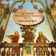 Johan Helmich Roman (1694-1758): Cembalosonaten Nr.8-12, Super Audio CD