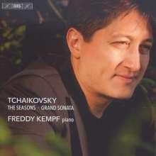 Peter Iljitsch Tschaikowsky (1840-1893): Die Jahreszeiten op.37b (Fassung für Klavier), Super Audio CD