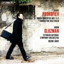 Serge Prokofieff (1891-1953): Violinkonzerte Nr.1 & 2, Super Audio CD