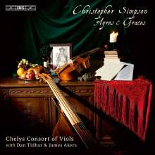 Christopher Simpson (1610-1669): 20 Ayres For Two Trebles And Two Basses, Super Audio CD