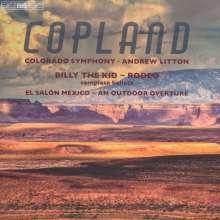 Aaron Copland (1900-1990): Billy the Kid - Ballettsuite, Super Audio CD