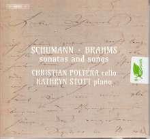 Robert Schumann (1810-1856): Sonate für Violine & Klavier Nr.2 (arrangiert für Cello & Klavier), SACD