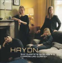 Joseph Haydn (1732-1809): Streichquartette Nr.34-36 (op.20 Nr.4-6), SACD