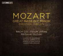 "Wolfgang Amadeus Mozart (1756-1791): Messe KV 427 c-moll ""Große Messe"", SACD"