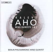 Kalevi Aho (geb. 1949): Bläserquintette Nr.1 & 2, SACD