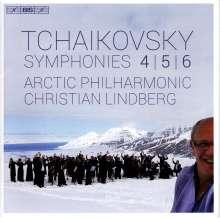 Peter Iljitsch Tschaikowsky (1840-1893): Symphonien Nr.4-6, 2 Super Audio CDs