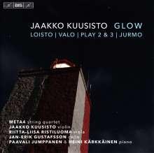 """Jaakko Kuusisto (geb. 1974): Kammermusik """"Glow"""", SACD"""