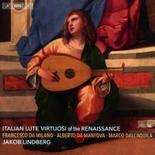 Jakob Lindberg - Italien Lute Virtuosi of the Ranaissance, Super Audio CD
