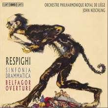 Ottorino Respighi (1879-1936): Sinfonia Drammatica, Super Audio CD