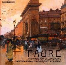 Gabriel Faure (1845-1924): Sonaten für Cello & Klavier Nr.1 & 2 (opp.109 & 117), Super Audio CD