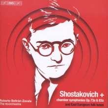 Dmitri Schostakowitsch (1906-1975): Kammersymphonien op.73a & op.83a, SACD