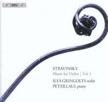 Igor Strawinsky (1882-1971): Werke für Violine Vol.1, SACD