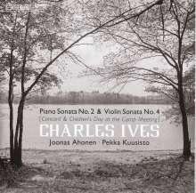 "Charles Ives (1874-1954): Klaviersonate Nr.2 ""Concord"", Super Audio CD"