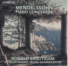 Felix Mendelssohn Bartholdy (1809-1847): Klavierkonzerte Nr.1 & 2, SACD