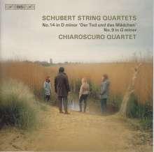 Franz Schubert (1797-1828): Streichquartette Nr.9 & 14, SACD