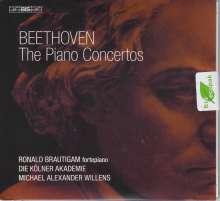Ludwig van Beethoven (1770-1827): Klavierkonzerte Nr.1-5, 2 SACDs