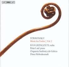 Igor Strawinsky (1882-1971): Werke für Violine Vol.2, SACD