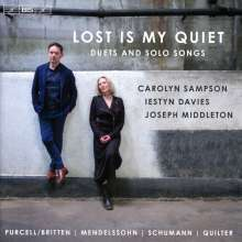 Carolyn Sampson & Iestyn Davies - Lost Is My Quiet, SACD