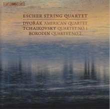 Escher String Quartet - Dvorak / Tschaikowsky / Borodin, Super Audio CD